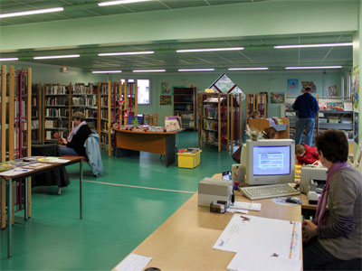 Photo bibliothèque